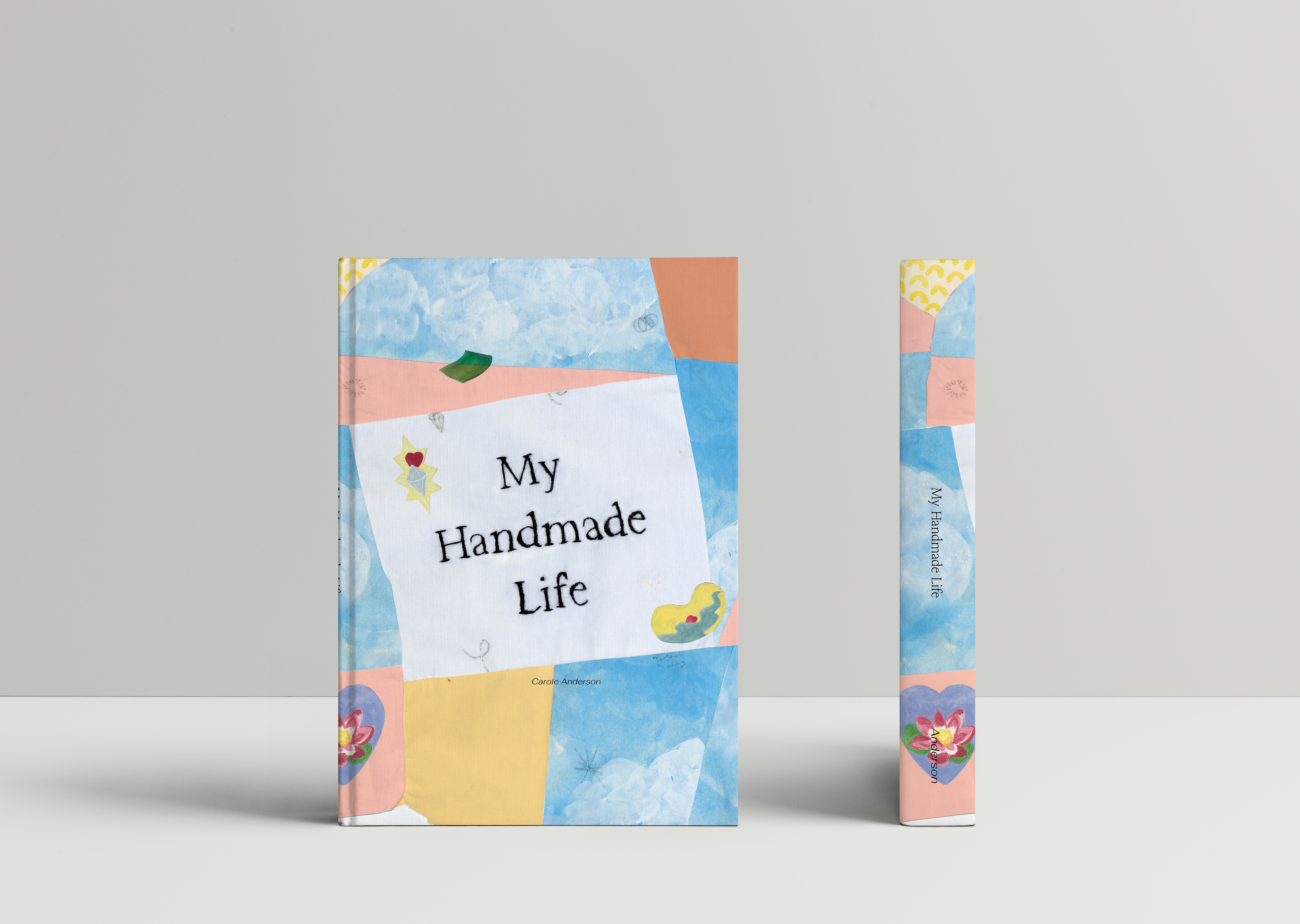 Hardcover Book MockUp 2_2_pages_front